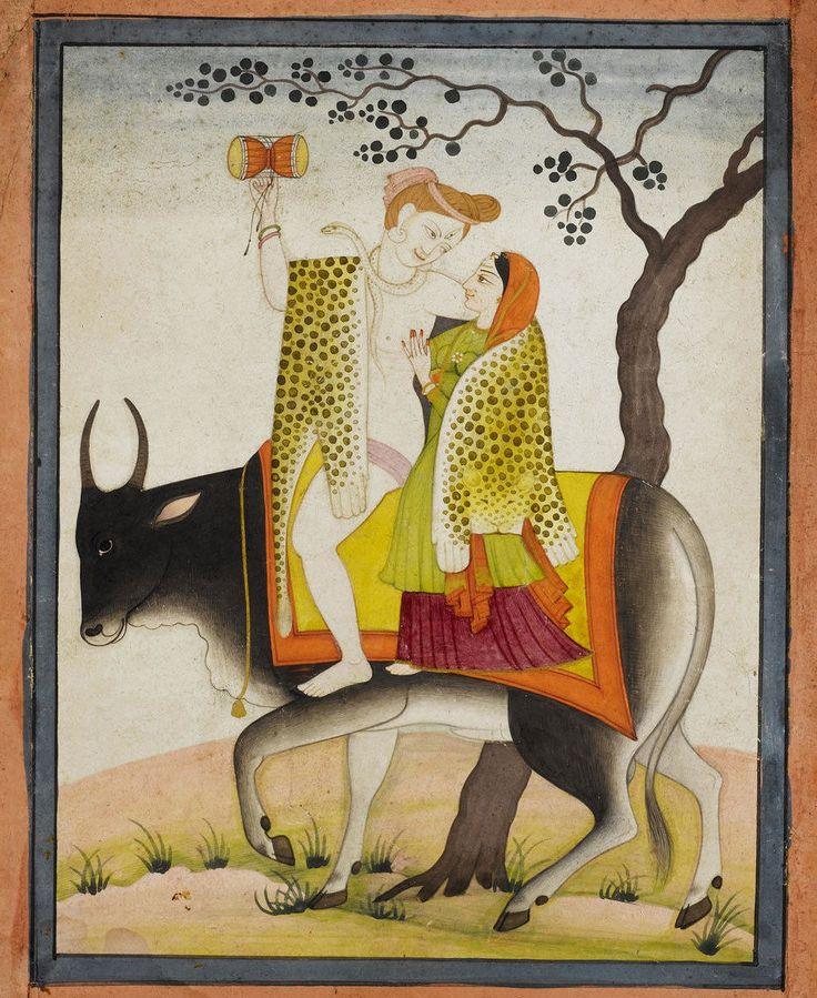 Shiva - Parvati - Nandi