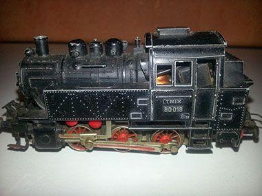 SPEELGOED | Os WinkelkeOs Winkelke, van vintage & retro tot anno nu! kom kijken op www.oswinkelke.nl #trix #trein #modeltrein #rails #locomotief #wagon