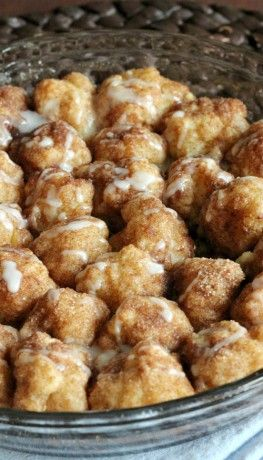 Cinnamon Roll Bites ~ If you love the scent of cinnamon filling your kitchen, you will be completely amazed with this easy recipe for cinnamon roll bites.