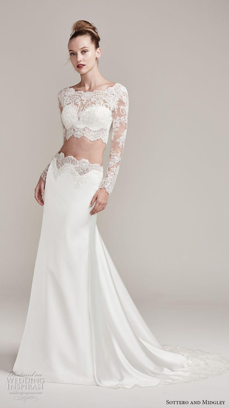 ebe287116dbef6 Best Crop Top Wedding Gowns | Saddha