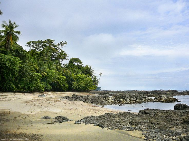 Costa Rica - Reisen - Reisetipps - Nationalpark Corcovado-Sandstrand