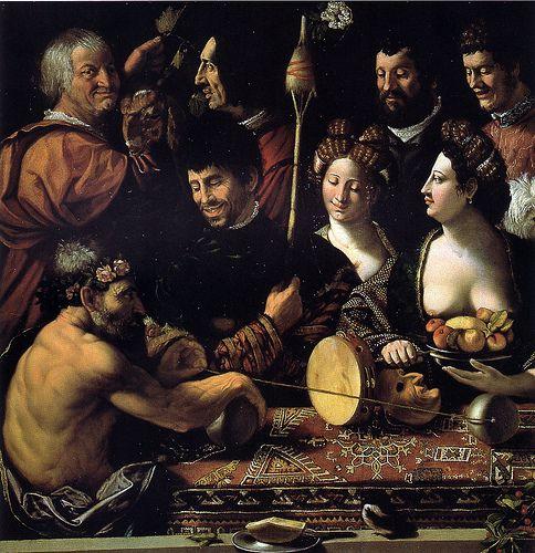 Allegory of Hecrules at Uffizi Gallery Florence Italy DOSSO DOSSI Giovanni di Niccolò Luteri, detto comunemente Dosso Dossi (Tramuschio?, 1486? – Ferrara, 1542) #TuscanyAgriturismoGiratola
