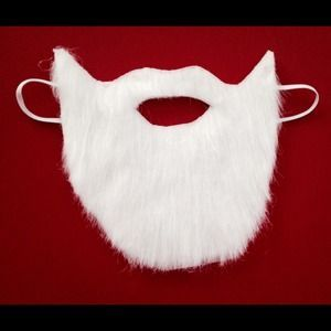 I just discovered this while shopping on Poshmark: Santa costume beard. Check it out!  Size: Made to order