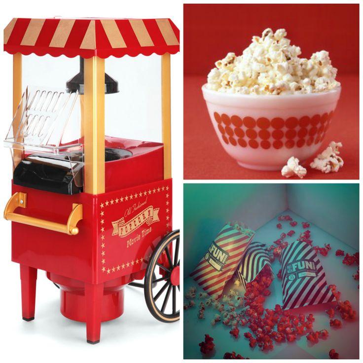 ASOTV Popcorn Maker - Movie night can never be without popcorn