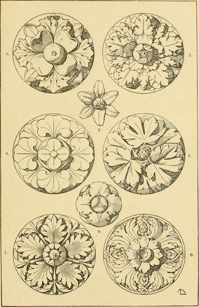 "Image from page 197 of ""Handbook of ornament; a grammar of art, industrial and architectural designing in all its branches, for practical as well as theoretical use"" (1900)"