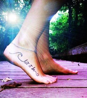 Cute Foot Tattoo Designs | All Tattoos Here: Tattoos For Girls On Foot Quotes