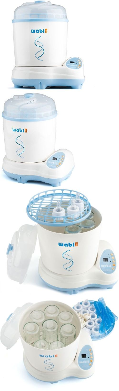 Bottle Sterilizers 106789: Wabi Bpa Free Baby Electric 3-In-1 Baby Bottle Steam Sterilizer And Dryer -> BUY IT NOW ONLY: $142.95 on eBay!