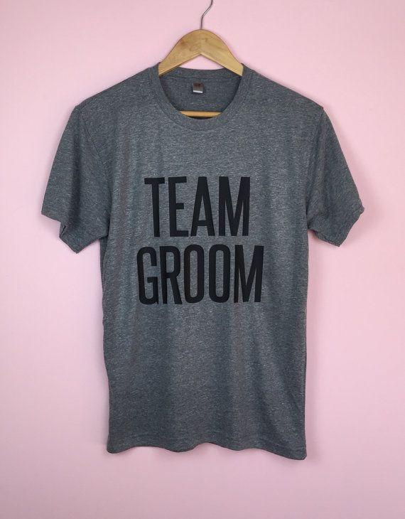 Team Groom Shirt. Bachelor Party. Bachelor Party by TrexAndUnicorn