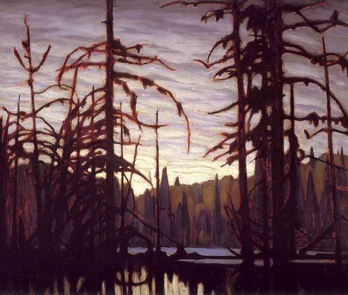 LAWREN HARRIS  Beaver Swamp, Algoma (1920)