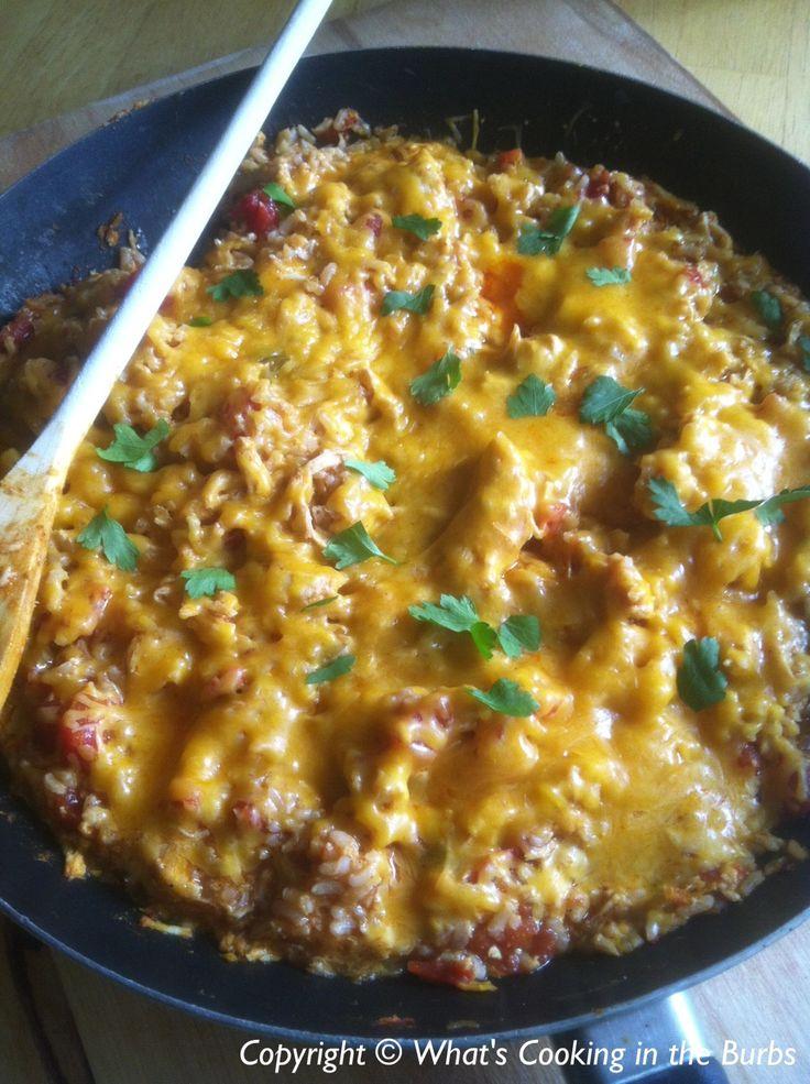 Chicken Enchilada Skillet @ 6 Ww Points Plus