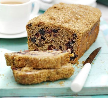 Fruity teacake. Perfect with a reviving cuppa, this cake is a keeper and will happily sit in a tin for a week or so