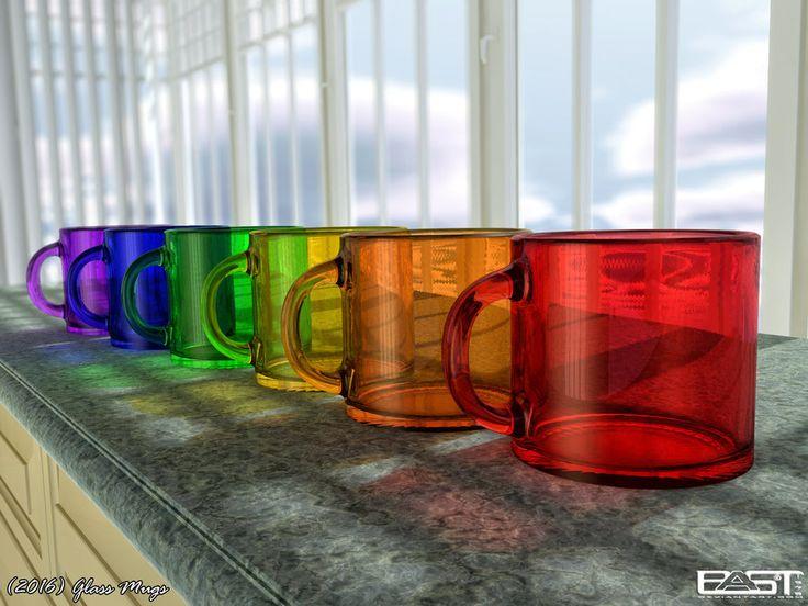 Glass Mugs by PaSt1978 on DeviantArt