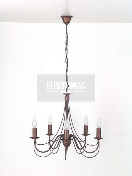 Brilliant Żyrandol Cassino 81473/56 : Lampy wiszące metalowe : Sklep internetowy Elektromag (#cottage #lamp)