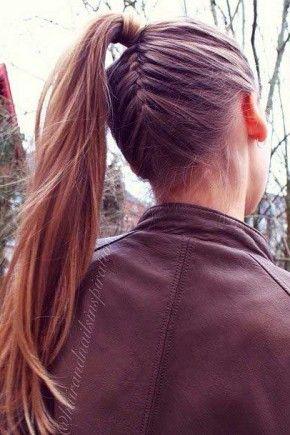 Todos los días Cola de caballo Peinados 2015 Otoño