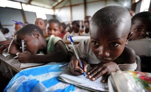 In #DRC, we enable almost 500,000 children to safely go to school. bit.ly/1poRHqi #backtoschool