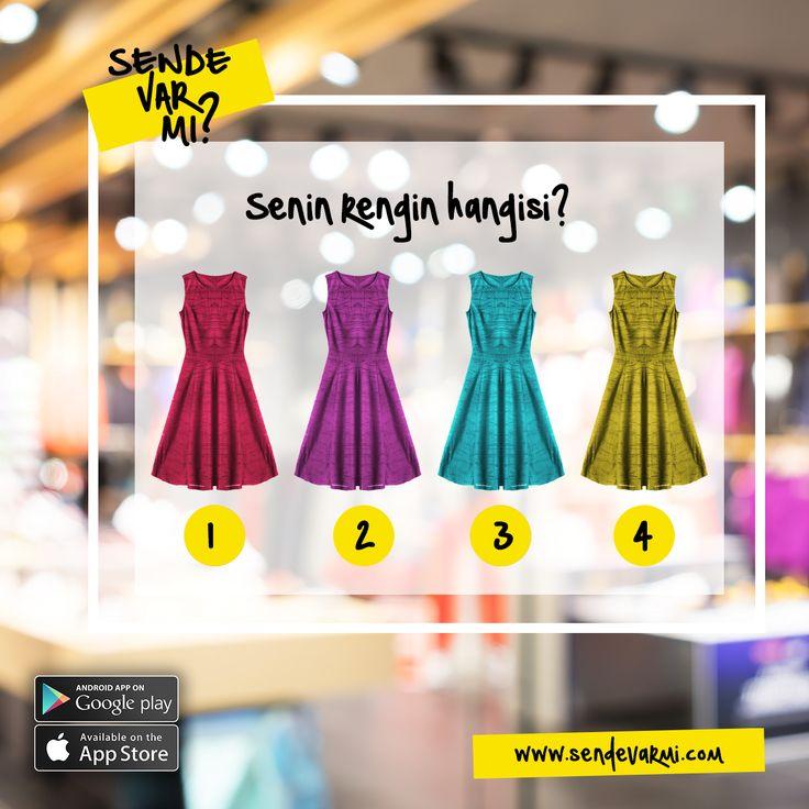 Peki bugün senin rengin hangisi? #ikincielinbirinciadresi #ikinciel #sendevarmi #sendevarmicom #alışveriş #kadın #erkek #bebek #yaz #moda #ikincielmoda #fashion #kırmızı #pembe #mavi #sarı