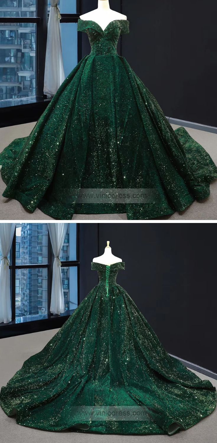 Off The Shoulder Green Prom Dresses Plus Size Vintage Ball Gowns Fd1304 Vintage Ball Gowns Green Prom Dress Ball Gowns [ 1500 x 735 Pixel ]
