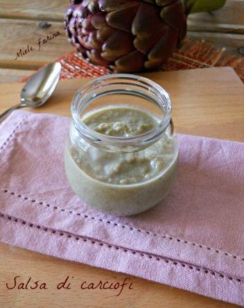 Salsa di carciofi.Ricetta condimenti