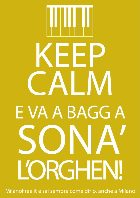#keep #calm e vai a suonare l' #organo a Baggio (tanto nella #chiesa non c'è) #milano #milan http://milanofree.it/