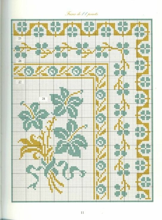 Borders in cross stitch 4
