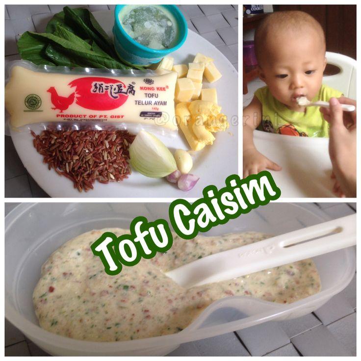 tofu caisim..