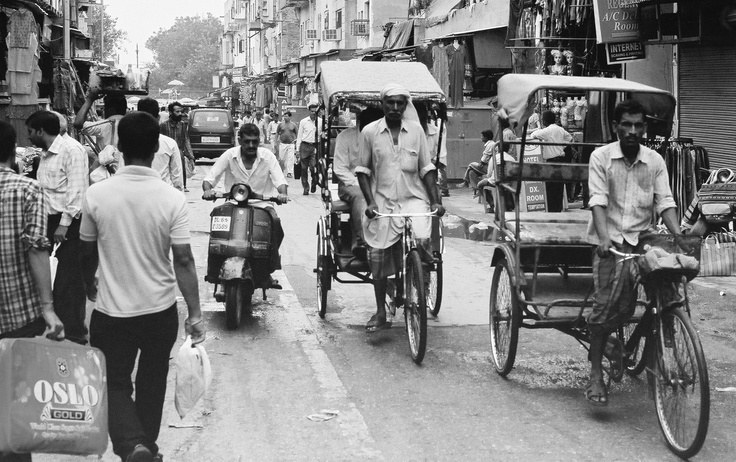 Indie 2011 Main Bazaar New Delhi