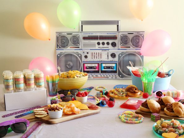How To Host An 80s Party - Food.com