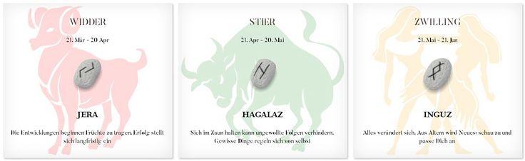 Runen Tageshoroskop 17.9.2017 #Sternzeichen #Runen #Horoskope #widder #stier #zwilling