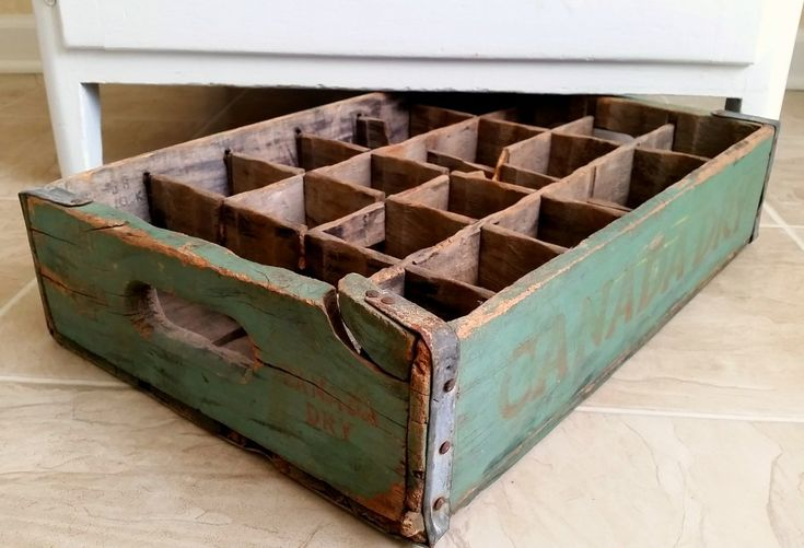 556 best images about coca cola crates on pinterest for Wooden soda crate ideas