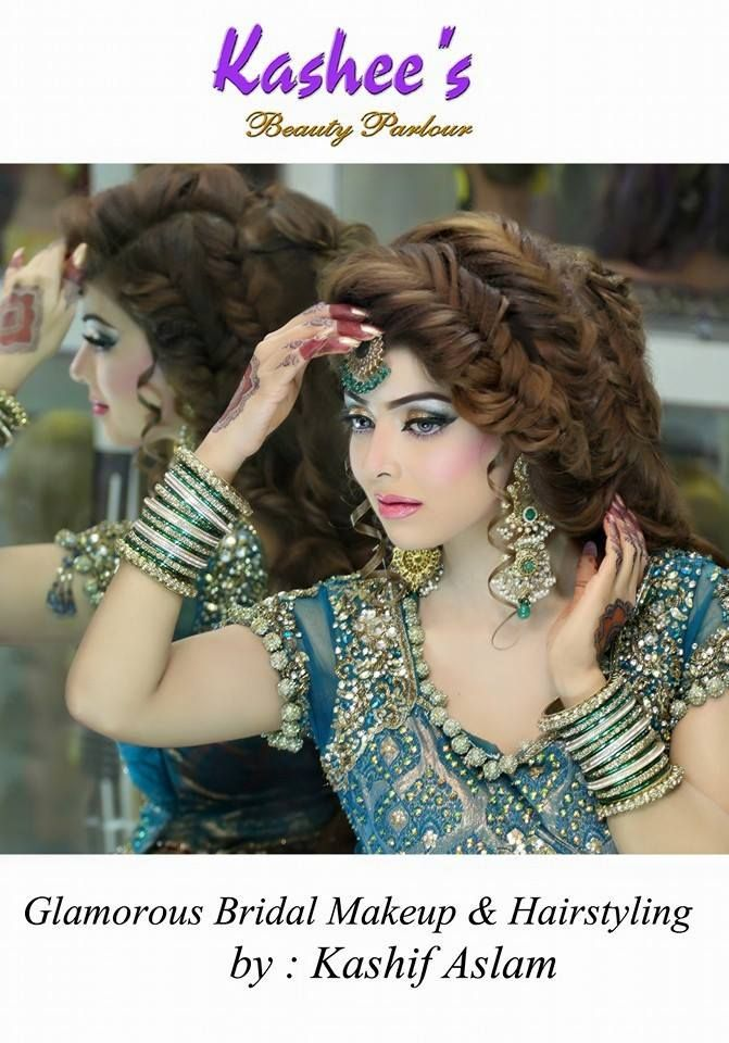 Makeup and hair styling done by kashif aslam by kashee s