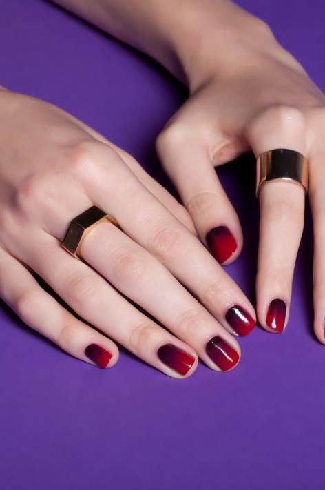 cherry bomb ombre, opi, venice, amore at the grand canal, o suzi mio, my gondola or yours