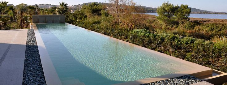 Awesome Overflow Swimming Pool Design Contemporary - Decorating ...
