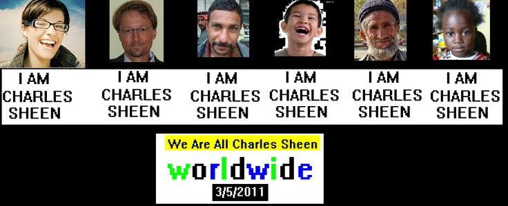 Charles Sheen Day Worldwide First Anniversary
