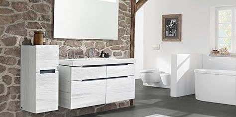 Мебель для ванной комнаты Villeroy & Boch на любой вкус