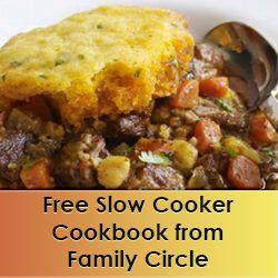 FREE Slow Cooker Favorites Recipe Book