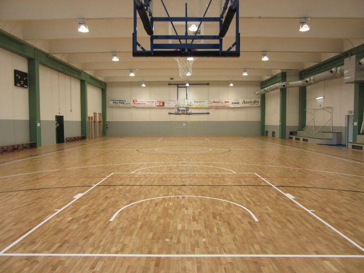 Il modello #Playwood è ideale per ospitare le più classiche discipline da #palestra quali basket, volley, calcio a 5