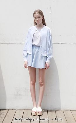 LOW CLASSIC (designer): cover up + white shirt + circle skirt + slippers : minimalist