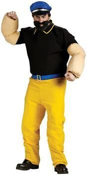 PartyBell.com - Popeye - Brutus Adult Costume
