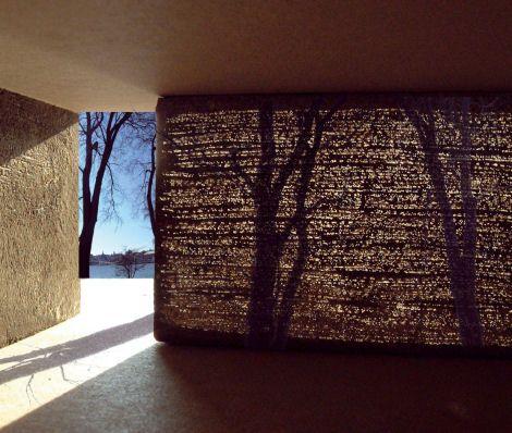 litracon.  ... transparent concrete.