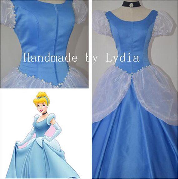 Handmade Cinderella Costume Cinderella Cosplay by LydiaCosplay