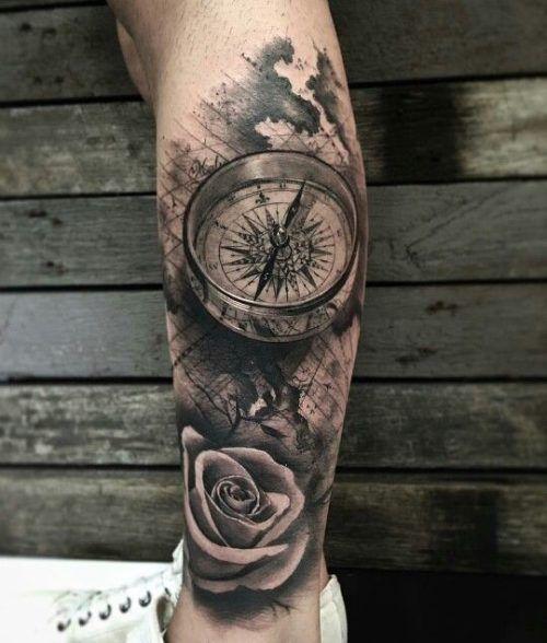 Tatuajes En La Pierna Para Hombres Con Los Mejores Diseños Amazing
