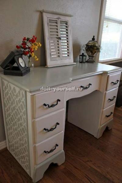 Реставрация старой мебели своими руками дома