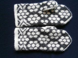 Tekstilarkivet: vanter. #mittenS:-)