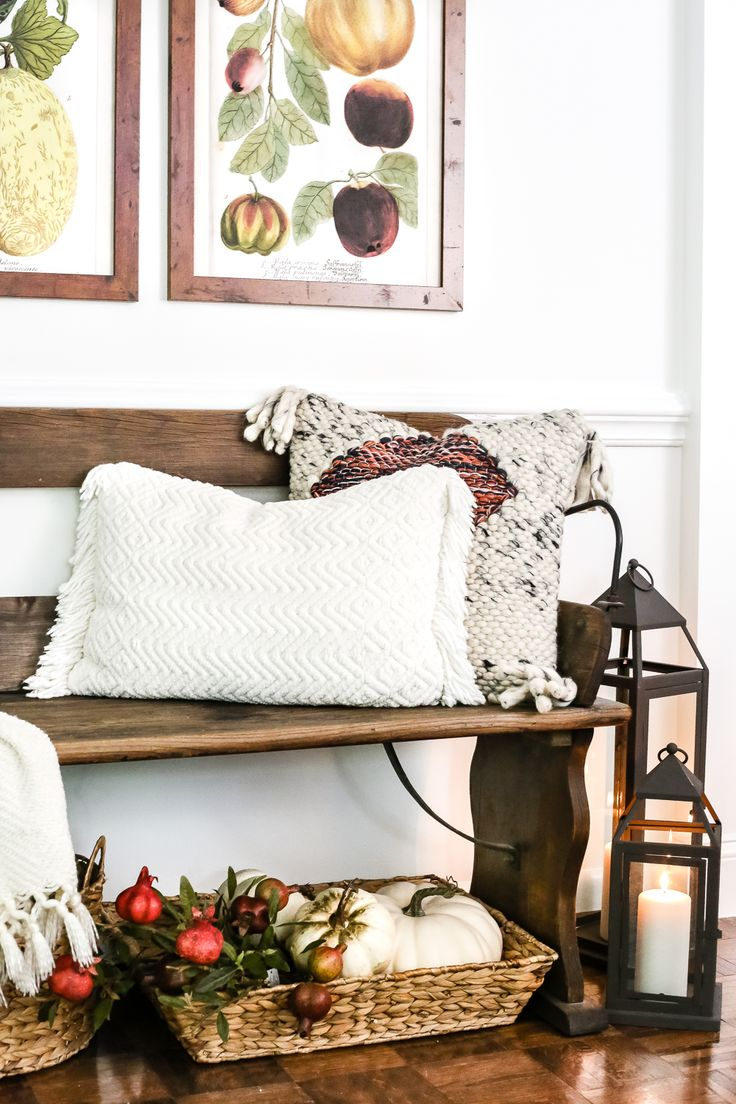 564 best Fall Decor images on Pinterest | Fall mantels, Autumn home Fall Decorating Ideas Bedroom C E A on