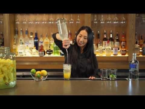 Recipe: Bonefish Grill's Ocean Trust Tropic Heat Martini - YouTube