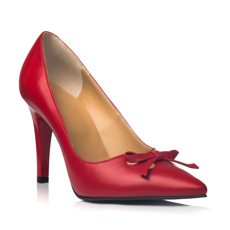 DARE TO WEAR >> Pantofi stiletto Dark Red