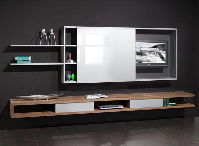 Mooi tv-meubel met schuifkast