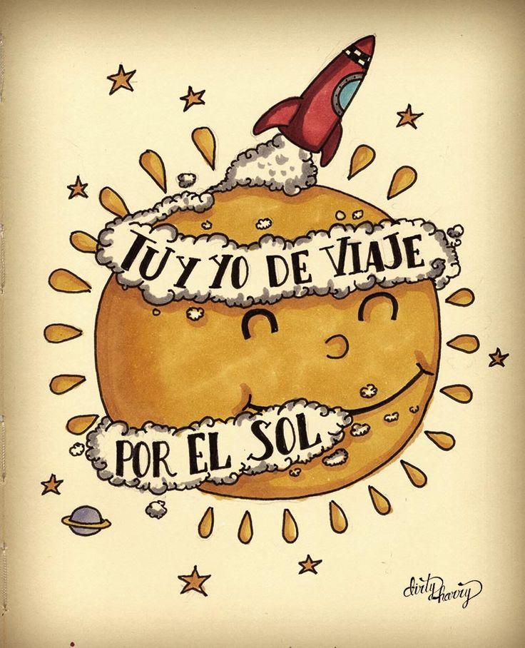 Tu y yo de viaje por el sol - www.dirtyharry.es
