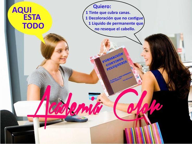 Cursos reciclaje peluquería Asturias. Academia Color