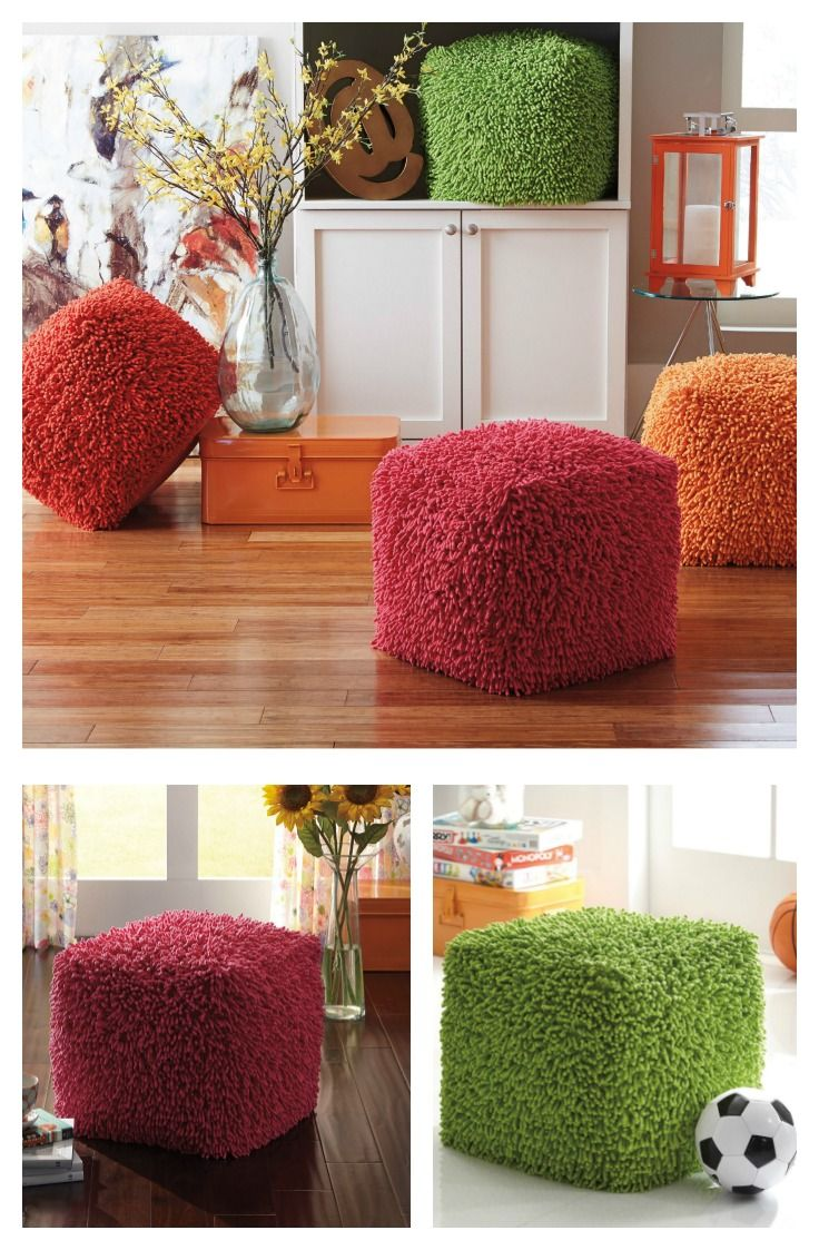 by ashley taisce pouf the fluffy signature design by ashley taisce pouf comes in a range of fun colors this cube pouf is perfect for your bedroom or